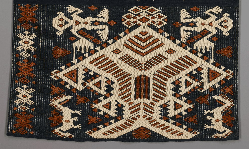 Woman's skirt (detail), lau pahudu, east Sumba, Indonesia, 19th century. Dallas Museum of Art, Steven G. Alpert Collection of Indonesian Textiles, anonymous gift, 1983.94