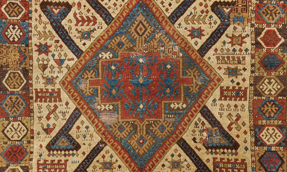 East Anatolian rug (detail), Şarkişla/Sivas region, ca. 1800