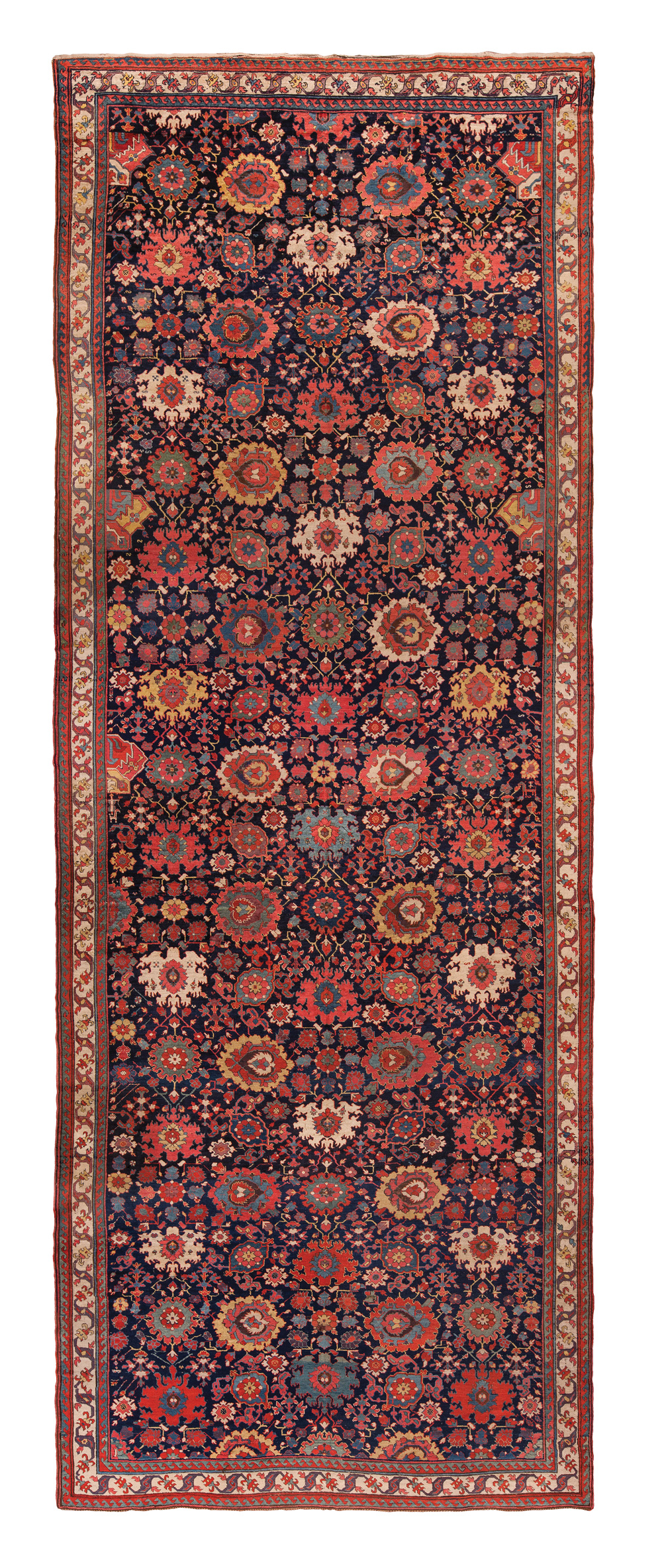 """North-west Persian harshang carpet, 18th century. 2.77 x 7.09 m (9' 1"""" x 23' 3"""")"""