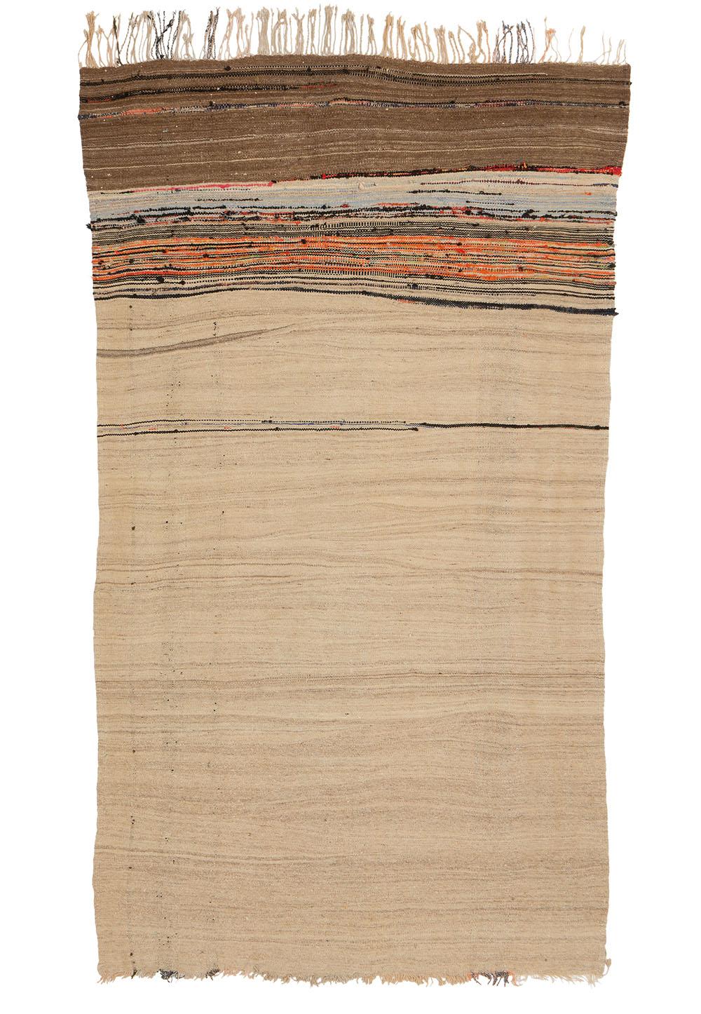 "Berber haik, Mejjat tribe, AntiAtlas, southern Morocco, second half 20th century. 1.15 x 1.95 m (3' 9"" x 6' 5""). Alexandra Sachs collection"