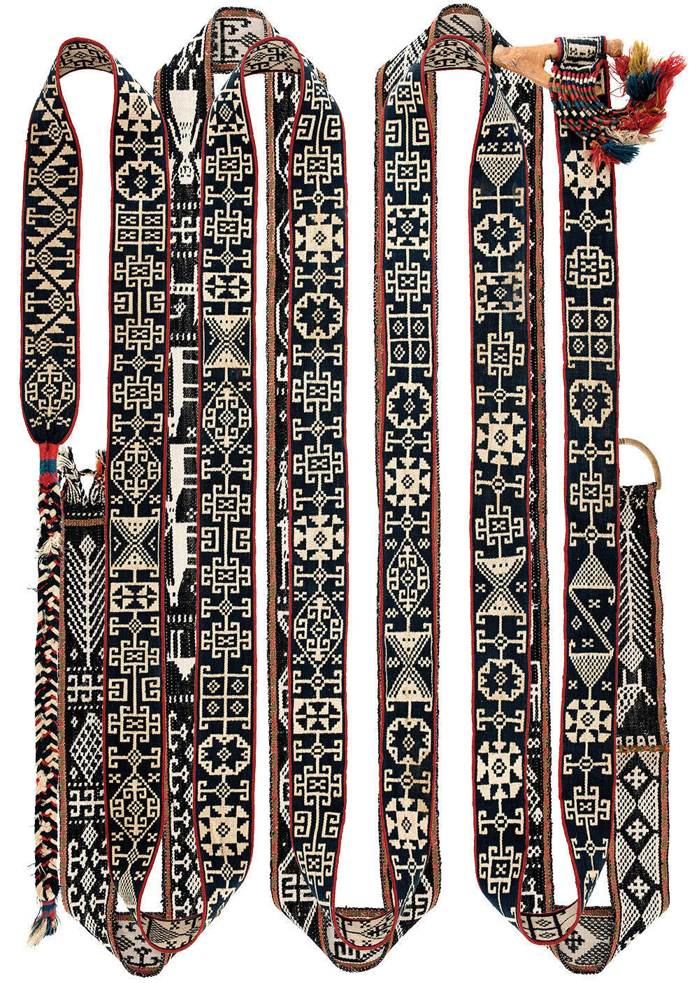 Shahsevan pack-animal band, Iran. Fred Mushkat collection. Published in Weavings of Nomads in Iran, no.86
