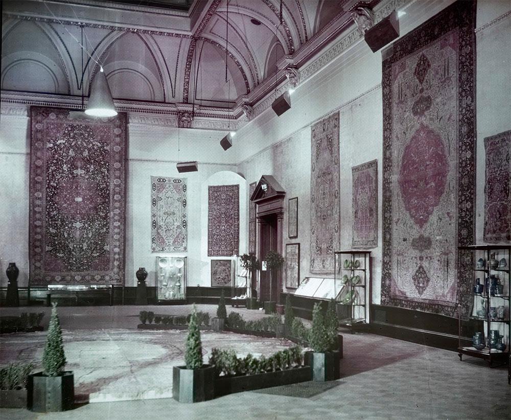 Gallery III, 'International Exhibition of Persian Art', Royal Academy of Arts, London, 1931
