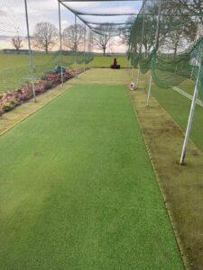 Finished cricket lane works