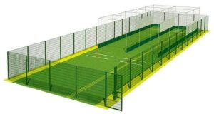 Cricket Nets CAD drawing