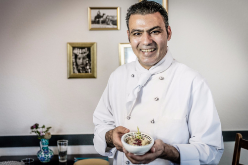 Chef Mohamed Khalil. SimSim Restaurant