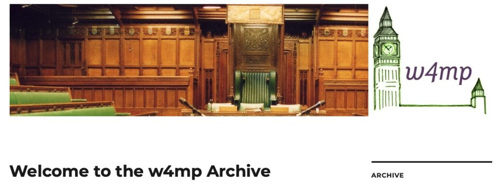 Archive homepage