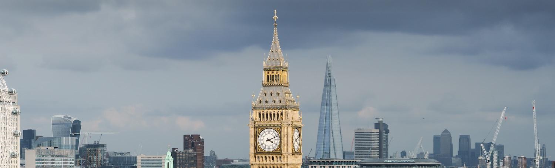 Elizabeth Tower against London skyline