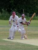 Kishan-Dave-batting