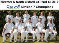 2nd XI Cherwell Div 7 Champions