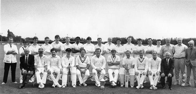 Bicester Town Cricket Club in the 1980s