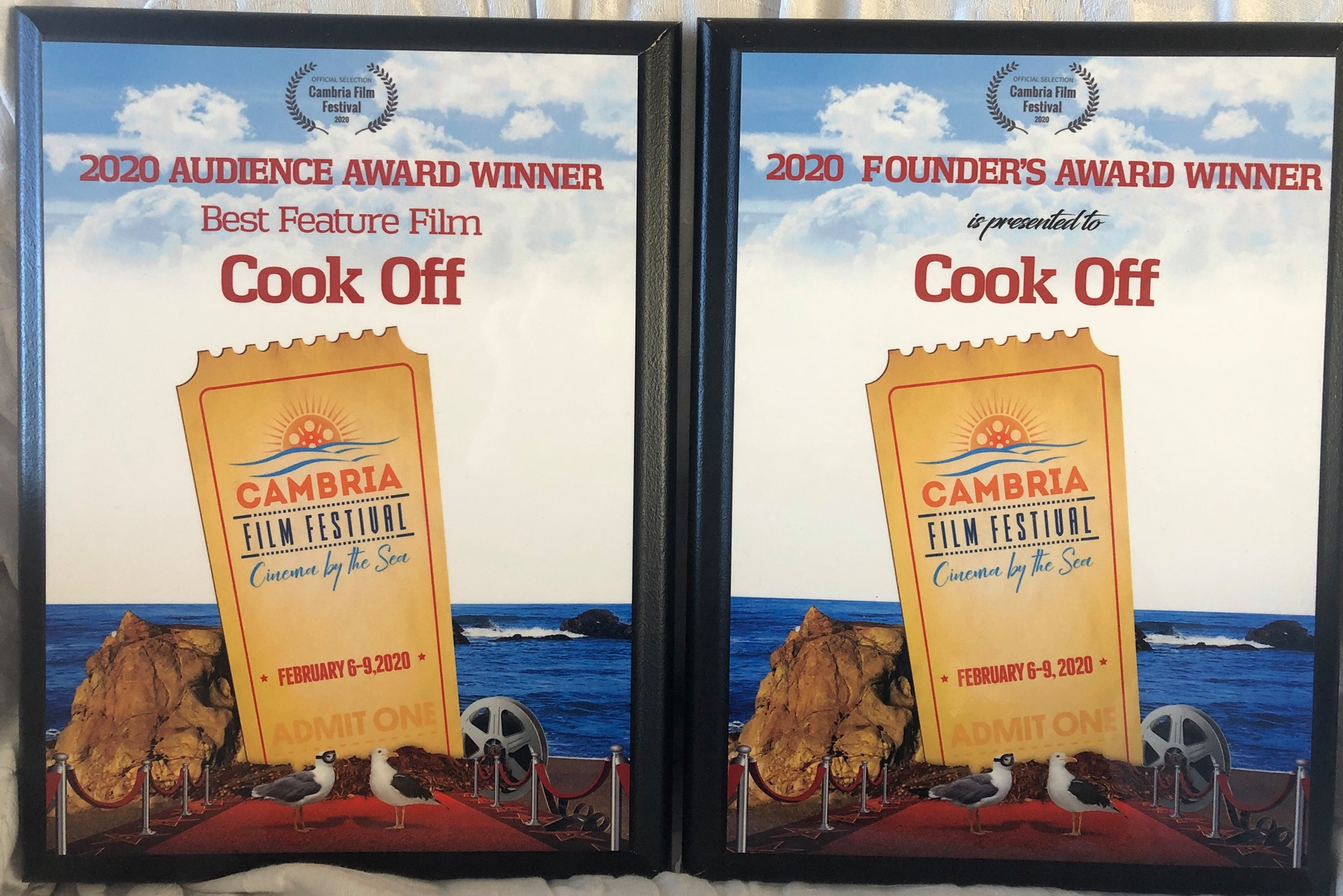 Cook Off Wins at Cambria Film Festival