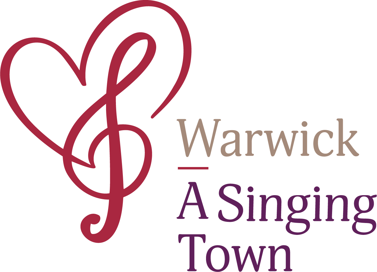 warwick - a singing town logo