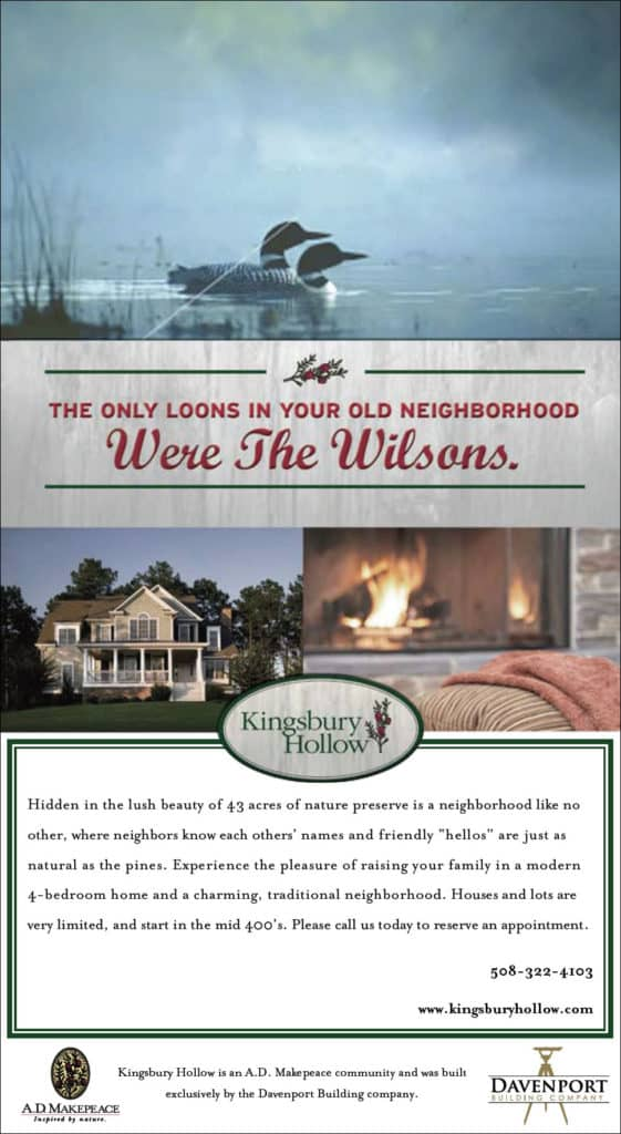 Kingbury Hollow Ad