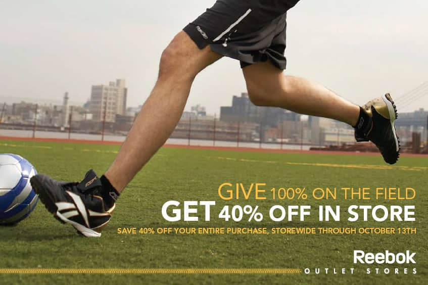 Reebok Outlet Sports Direct Mail