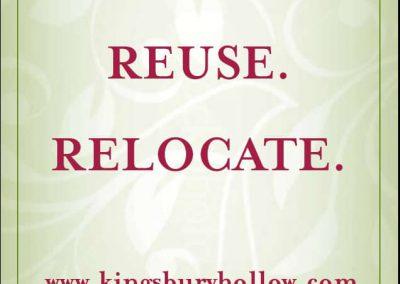 Kingsbury Hollow Ad