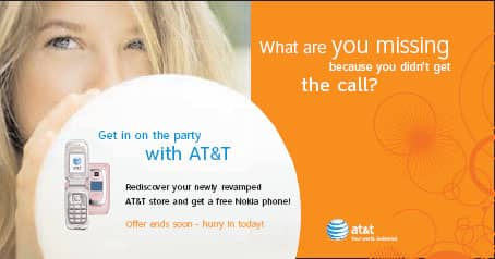 AT&T New Stores Direct Mail