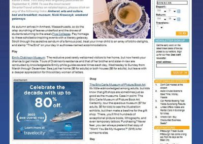 Amherst TDJ Website