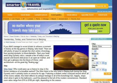 Beijing Travel Website