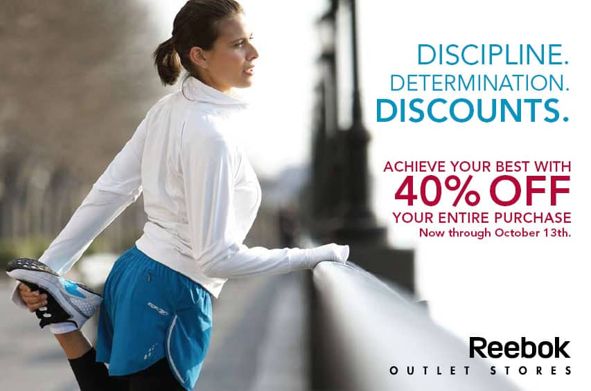 Reebok Outlet Fall Direct Mail
