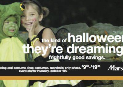 Marshalls Halloween Mailer