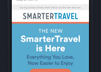 Smarter Travel Email
