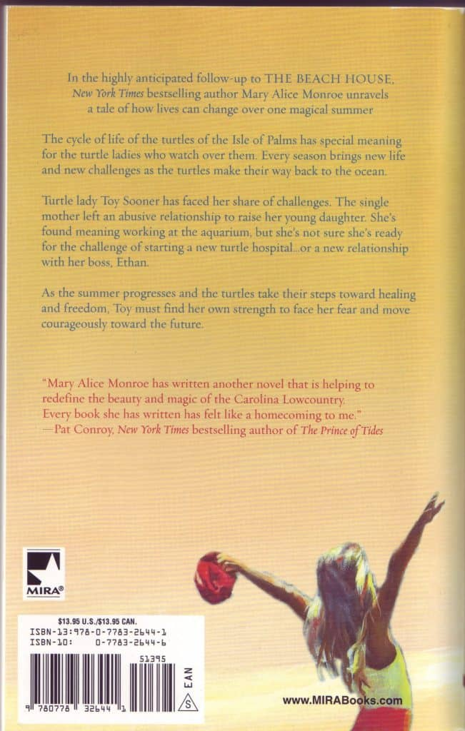 Swimming Lessons Back Cover Copy