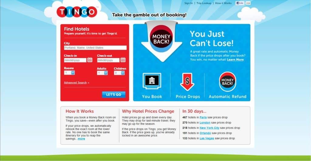 Tingo Website