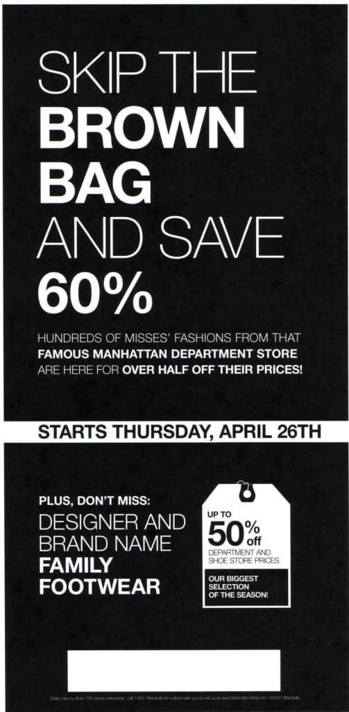 Brown Bag Ad