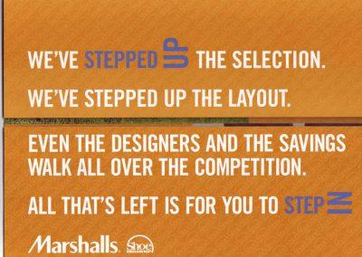 Marshalls Shoe Mailer