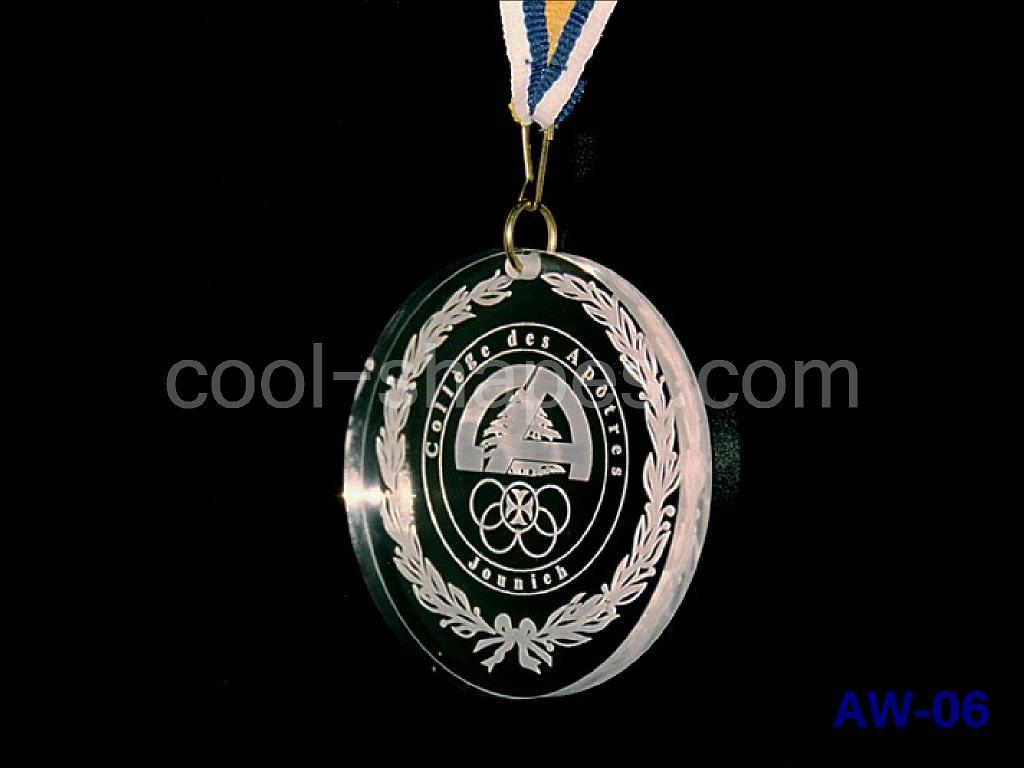 school acrylic medallion customized, SAUDI ARABIA medallion, awards KSA