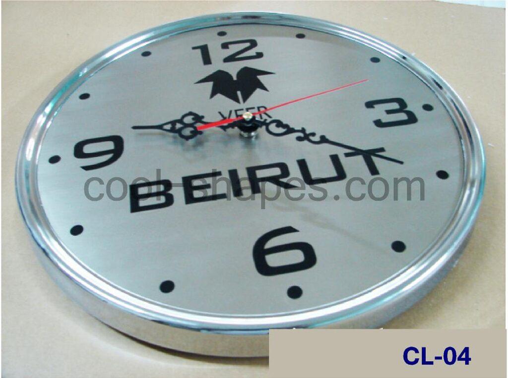 hotels customized clock office clock wall clock, KSA time watch