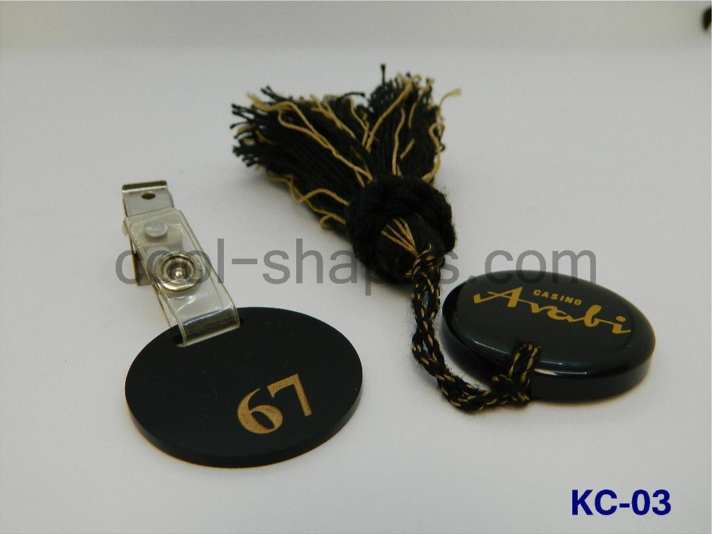casino arabi cloths tags, SAUDI tags, vestiaire badge number