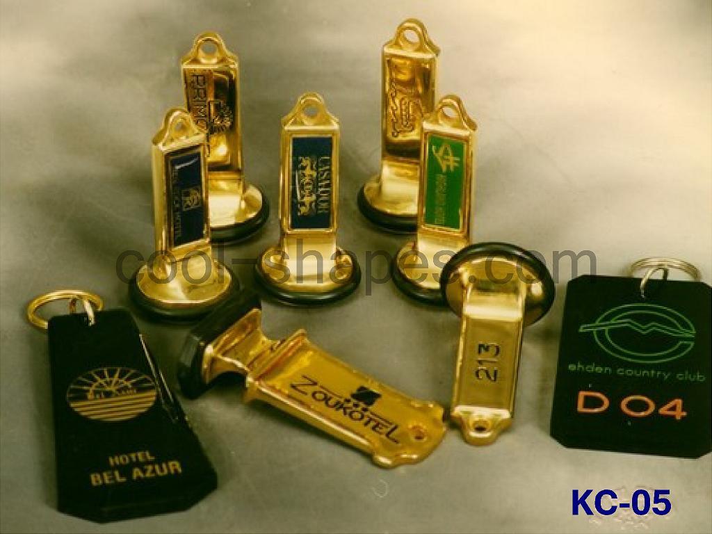 hotels brass acrylic key chains, hotels SAUDI ARABIA