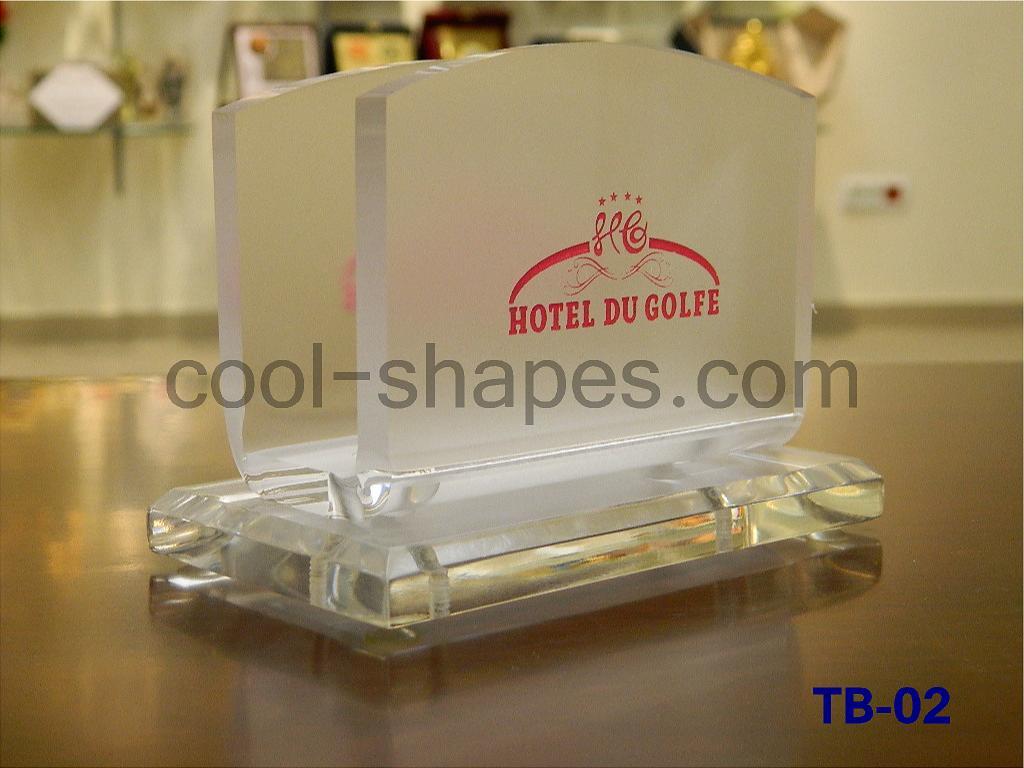 customized table numbers restaurants hotels Plexiglas napkin holder, hotel KSA