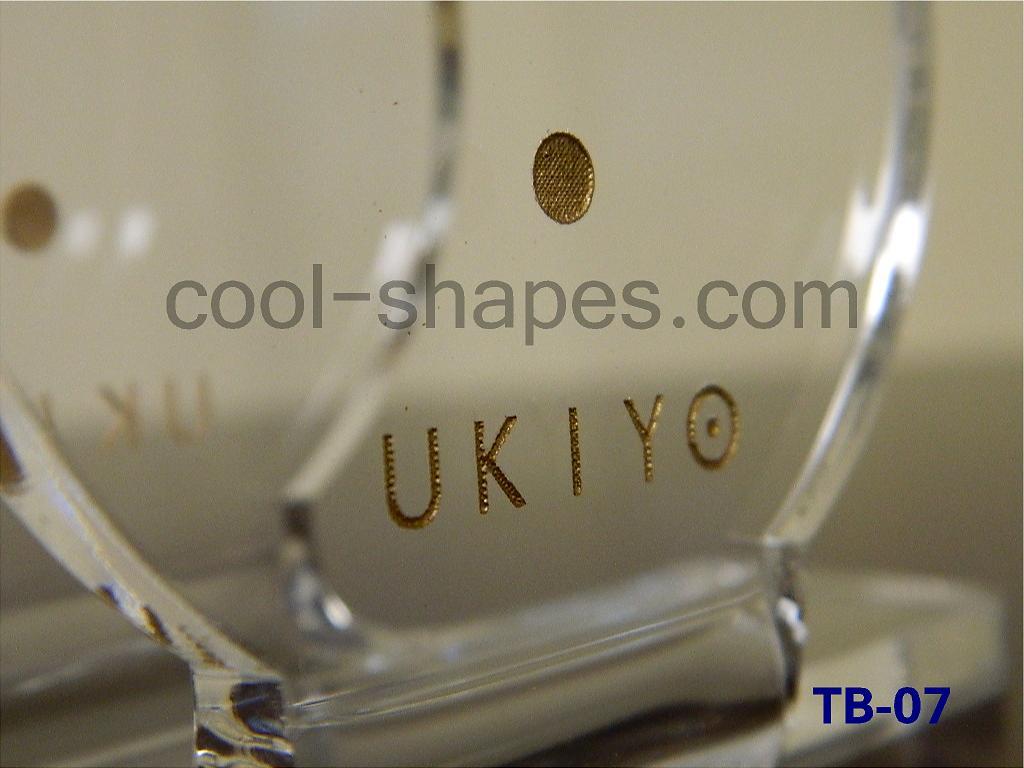napkin holder table number UKIYO customized, UKIYO sign