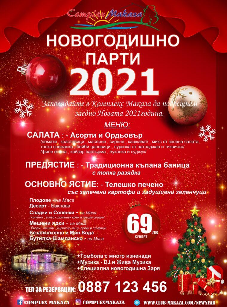 НОВА ГОДИНА 2021