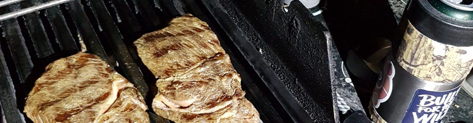 Kjøtt på grillen