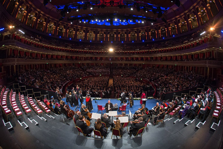 Royal Albert Hall Imperial college graduation