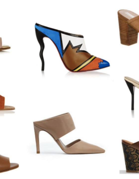 The Mule Heels Trend Edit