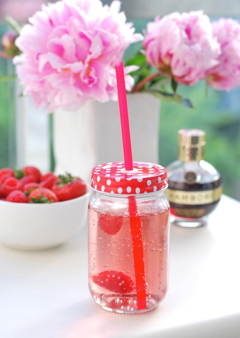 chambord and lemonade