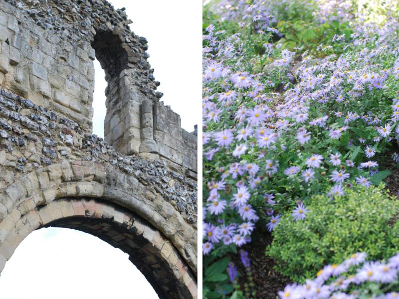 Canterbury-ruins