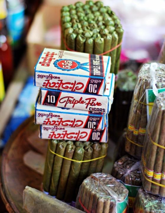 A Trip to Nyaung U Market in Myanmar