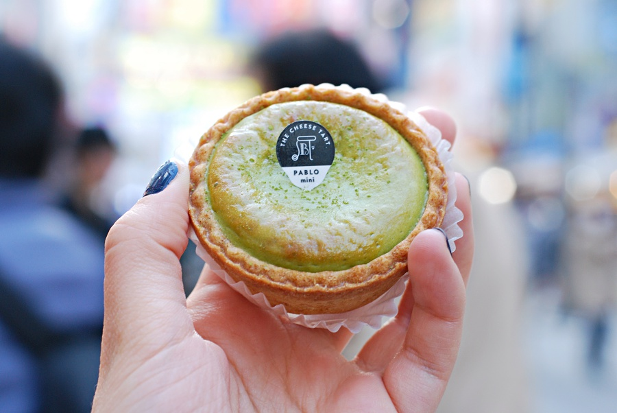 mini pablo cheese tart tokyo