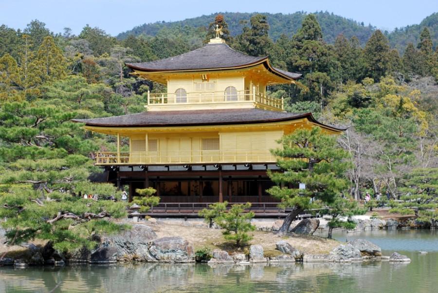 kinkakuji kyoto golden pavilion