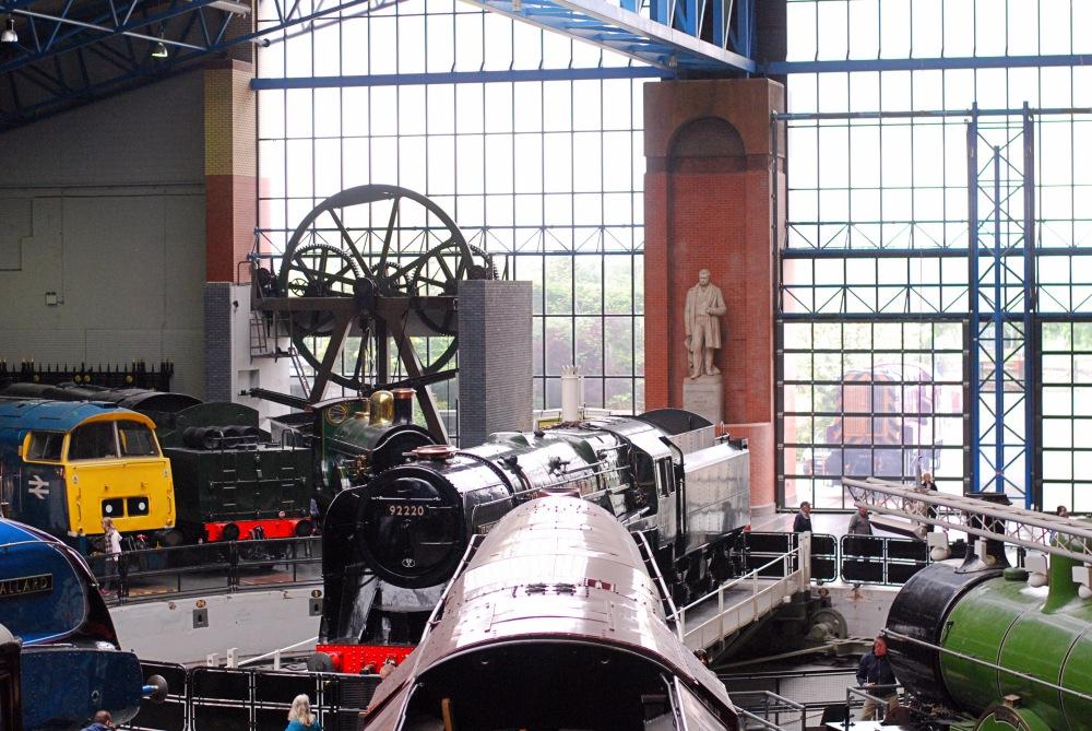 railway museum york trains