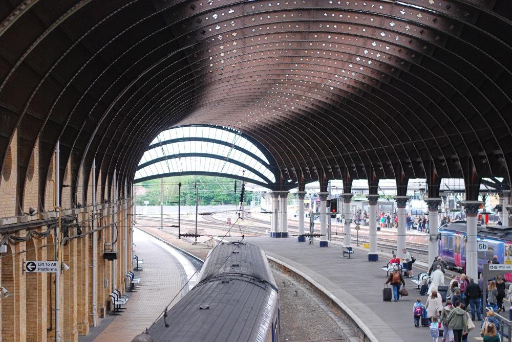 york train station