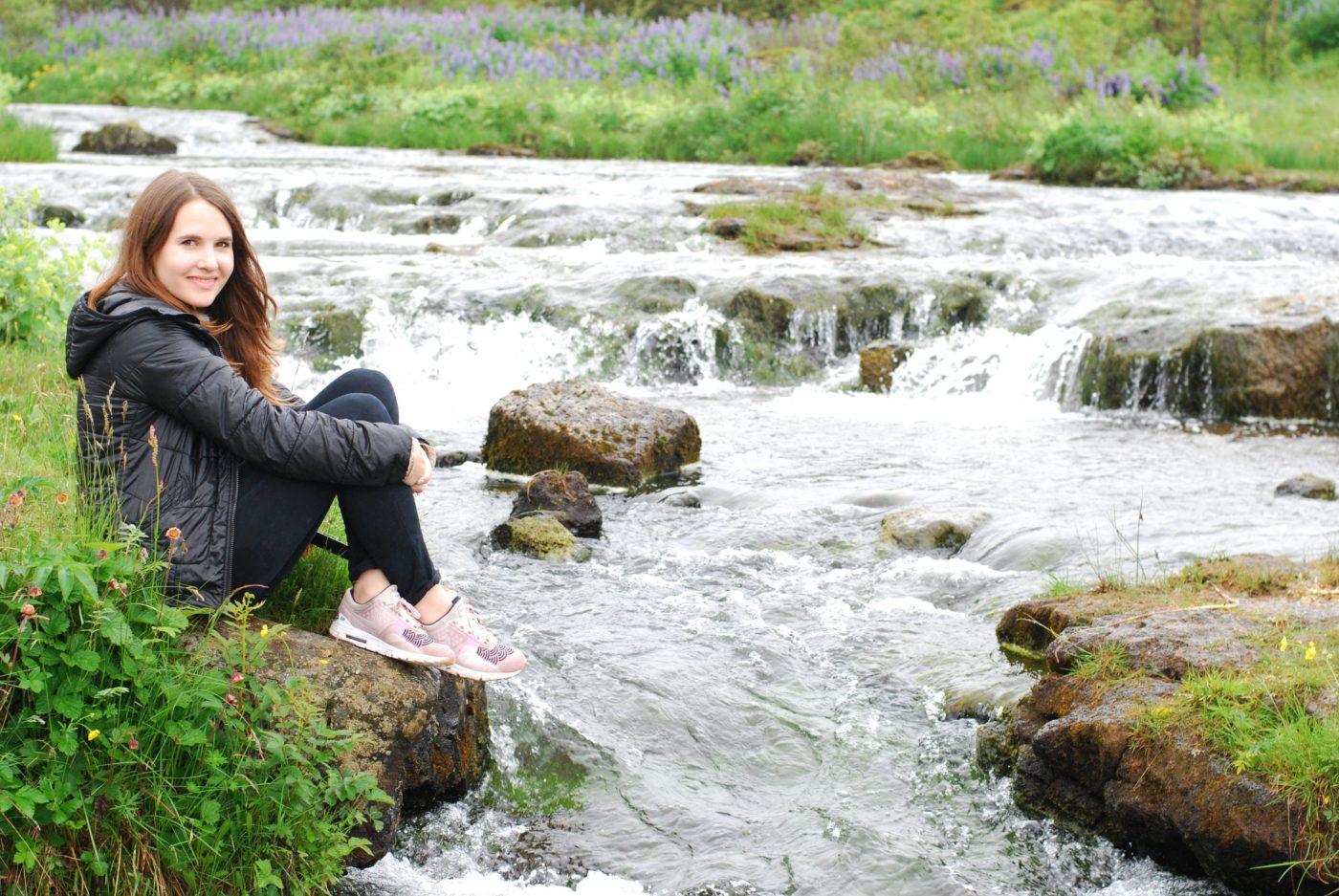 reykjavik waterfall iceland