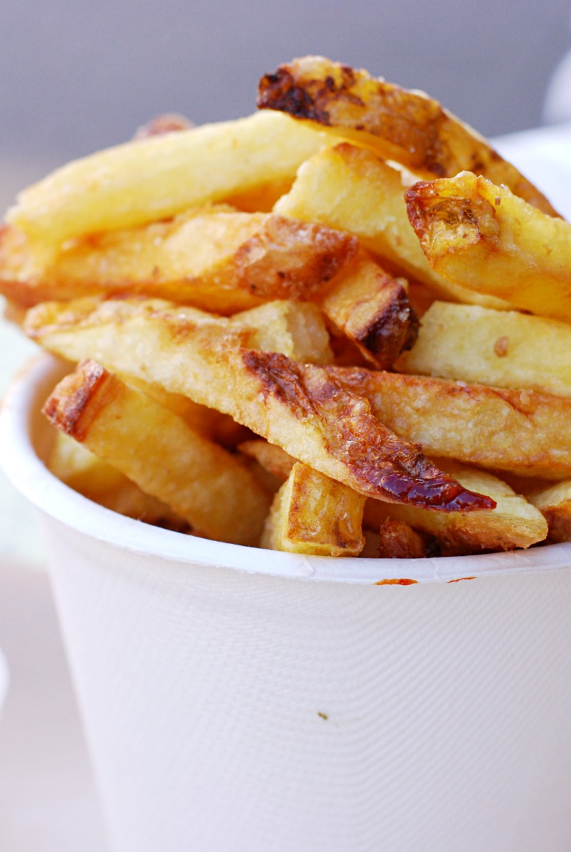 Patty & Bun fries with chicken salt