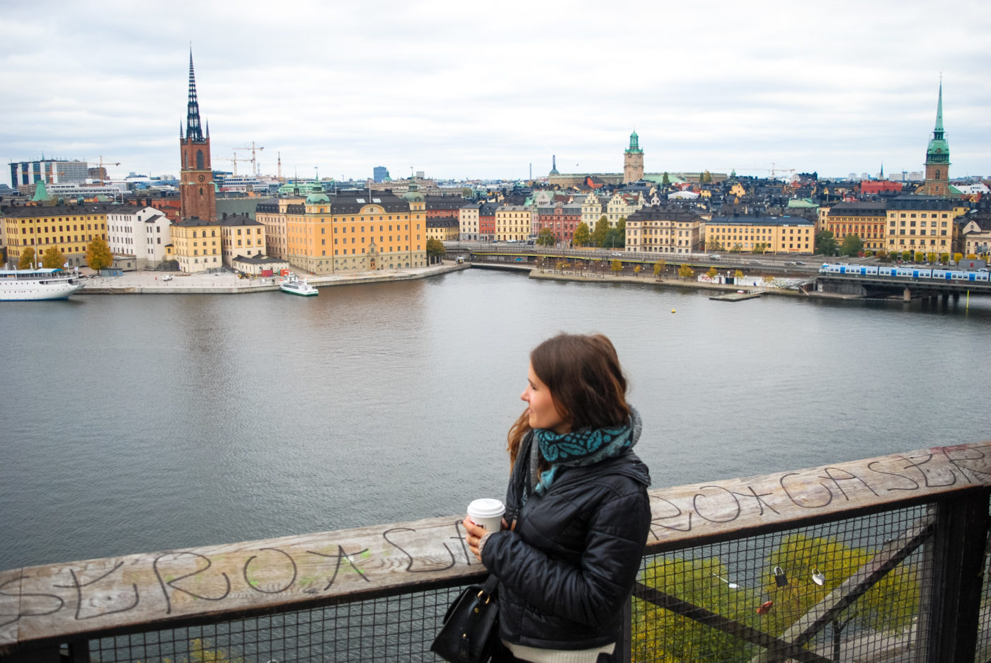 stockholm view of gamla stan
