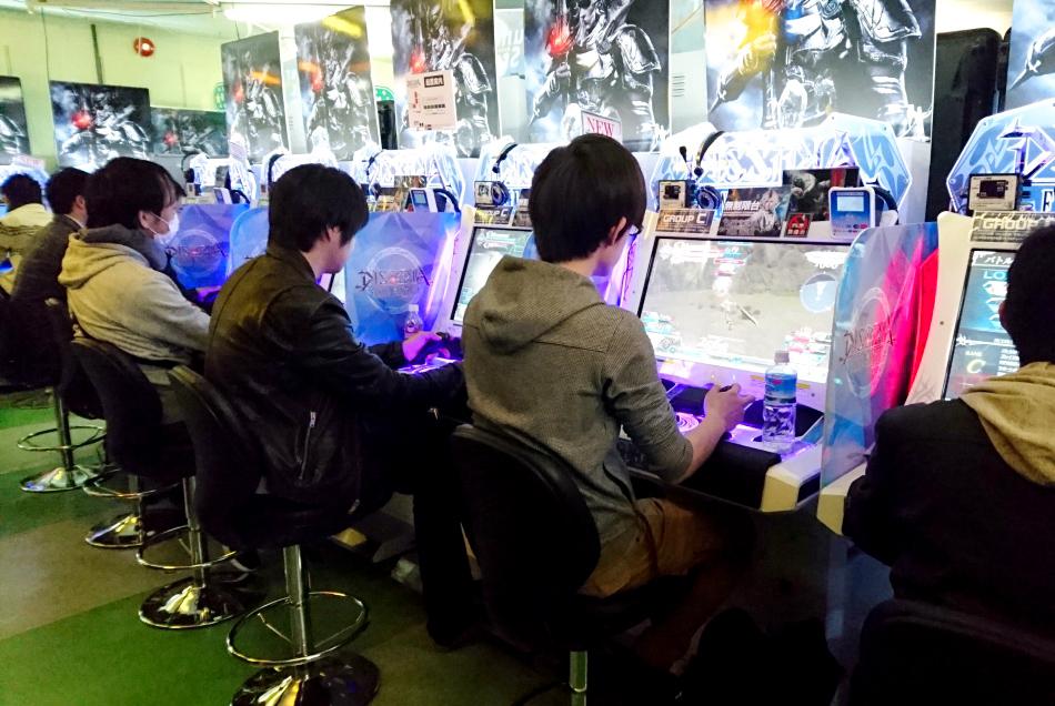 arcade games tokyo
